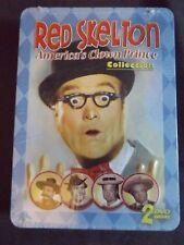 RED SKELTON 2 DVD SET Tin case Americas Clown Prince New sealed