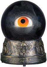 HALLOWEEN ANIMATED EYEBALL CRYSTAL BALL  HAUNTED HOUSE PROP DECORATION