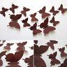 12pcs Decorations Nice Stickers Butterflies Docors Wall 3D Art Decor DIY