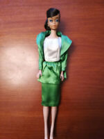 """European Vintage Barbie Swirl Ponytail Doll with 1964 """"Theatre Date"""" Outfit"""