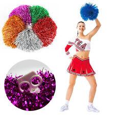 Tanzwedel 40g Cheerleader Karneval Pompon Fan Puschel Tanz Wedel Pom HOT