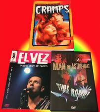 El Vez + Man or Astro-Man? DVD + Viaggio al Centro dei Cramps libro