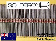 CR25 0.25W 2.2K Ohm (2K2) Carbon Film Resistor (25 Pieces) 5% Axial