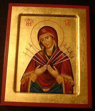 Maria Beruhigung der bösen Herzen Ikone Icon Icone икона Умягчение злых сердец