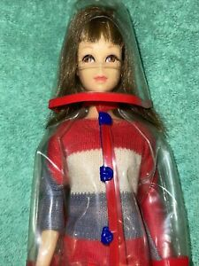 Vtg Francie Doll In #1281 Clear Out!  Bend Legs Straight Body