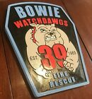 Bowie Fire Rescue 3D routed patch plaque sign Carved Custom