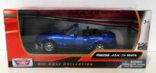 Motor Max 1/24 Scale Diecast 73262BLU - Mazda MX5 Miata - Blue