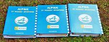 Collection Hachette 3 classeurs complets 65 livrets Alpine et Renault Sportives