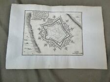 PLAN fin XVIIe: PHILIPPE-VILLE (Pays-Bas).