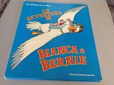 LIBRO BOOK MONDADORI 1977 WALT DISNEY BIANCA E BERNIE  raro