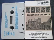 The Story Of The Blues- VARIOUS CBS 40-22135 Double Play Tape Cassette Album