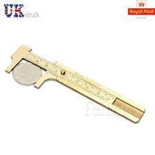 Copper Measurement Tool Vernier Calipers Inch & cm Pocket Ruler Gauge UK STOCK