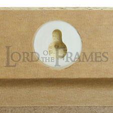 "2 KEYHOLE HANGERS PICTURE FRAMING Fits in 25mm/1"" hole"