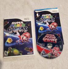Super Mario Galaxy Nintendo Wii COMPLETE VIDEO GAME