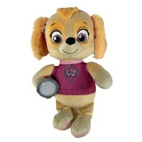 Talking PAW Patrol Skye Snuggle Up Pups Plushie Plush Soft Teddy Sounds Lights