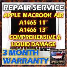 "MACBOOK AIR 11"" 13"" A1465 A1466 LAPTOP LOGIC BOARD REPAIR & LIQUID SPILL SERVICE"