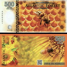 ATLANTIC FOREST - 500 aves dollars 2015 APE (BEE) FDS UNC