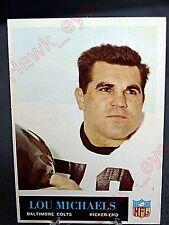 1965 Philadelphia #7 Lou Michaels Colts (EX/MT)