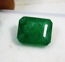 EPIC GEMS- 11 Ct+ Certified Natural Emerald- Emerald Cut- Glorious Gemstone