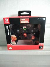 *NEW* Nintendo Switch Power A SUPER MARIO Retro 8-Bit Wired Controller Black&Red