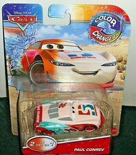 DISNEY PIXAR CARS 2020 1/50 COLOR CHANGERS 2 IN 1 PAUL CONREV NEW! HTF! COOL!
