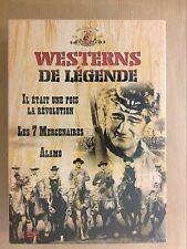 COFFRET 3 DVD / WESTERNS DE LEGENDE / NEUF SOUS CELLO