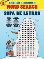 English-Spanish Word Search/Sopa de Letras #1 Dover Children's Language Activit