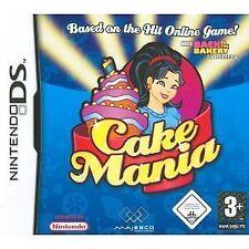 Nintendo DS NDS DSI Lite XL Spiel Cake Mania 1 RAR NEU