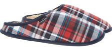 THE SAVILE ROW COMPANY - Mens Checkered Slippers - size UK 9/10 - RRP £39