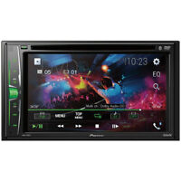 "Pioneer 2-DIN 6.2"" Touchscreen Car Stereo Multimedia DVD Receiver AVH-210EX"