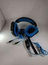 Logitech G430 Surround Gaming Gamer Headset Black Blue For PARTS/REPAIR