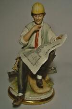 Porzellanfigur Porcellane Principe Capodimonte Luciano Cazzola Ingenieur