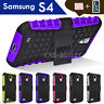 TPU Case Cover For Samsung Galaxy S4 S IV i9500 i9505 Kickstand Shockproof