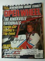 OPEN WHEEL Magazine September 1994 Steve Kinser Knoxville Nationals Auto Racing