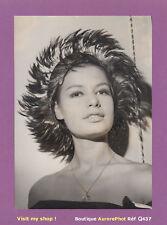 PHOTO DE PRESSE 1961 : MODE HAUTE-COUTURE, COIFFURE ORNÉE DE PIERRE CARDIN -Q437