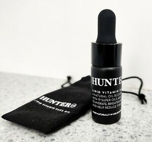 Hunter Lab Lipid Vitamin Facial Oil Travel Size 10ml New With Velvet Logo Pouch