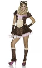 Beary Cute 4 Pc Costume Womens L-XL Size 10-14 Delicious Sexywear of NY - NIP