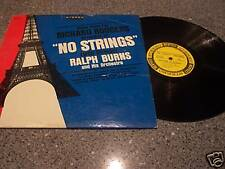 """Ralph Burns """"No Strings (With Strings) EPIC BN-630 LP"""
