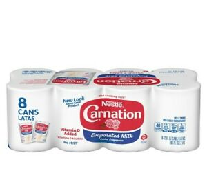 Carnation Evaporated Milk (8 - 12 oz. cans)
