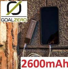 NEW GOAL ZERO  FLIP 10 RECHARGER POWER BANK 2600MAH/Solar Panel Ready!