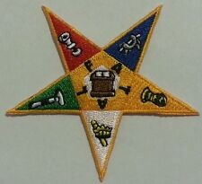 Order of Eastern Star (OES) Iron on Star Patch