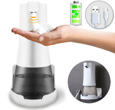 Automatic Touchless Foam Soap Dispenser USB Charging 350ml Waterproof Hands-Free