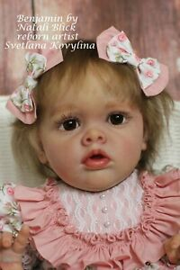 Hyperrealistic Reborn Baby doll Benjamin by Natali Blick