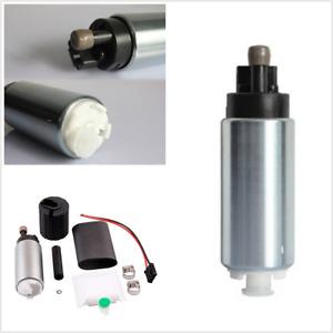 1Pcs High Pressure Intank Fuel Pump 255LPH Aluminum Alloy Universal Fit For Car