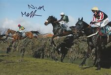 Niall Madden Hand Signed 12x8 Photo Numbersixvalverde 2006 Grand National.
