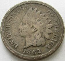 1862 Indian Head Penny / Small Cent in SAFLIP® - VG