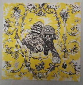 "Mark Dean Veca ""Mario Bros"" Blotter Art signed p/p printers proof #10/15"