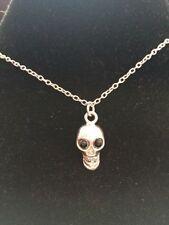 Skeletons Skulls Rhinestone Costume Necklaces & Pendants