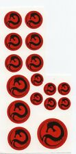Battletech 1/60th scale Clan and IS Insignia decals- Draconis Combine