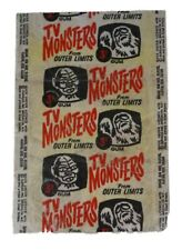 A&BC 1966 TV Monsters From Outer Limits Single Wax Wrapper